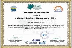 Haval Bashar Mohmmed Ali