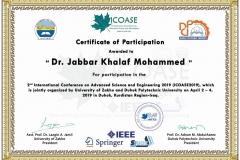 Jabbar Khalaf Mohammed